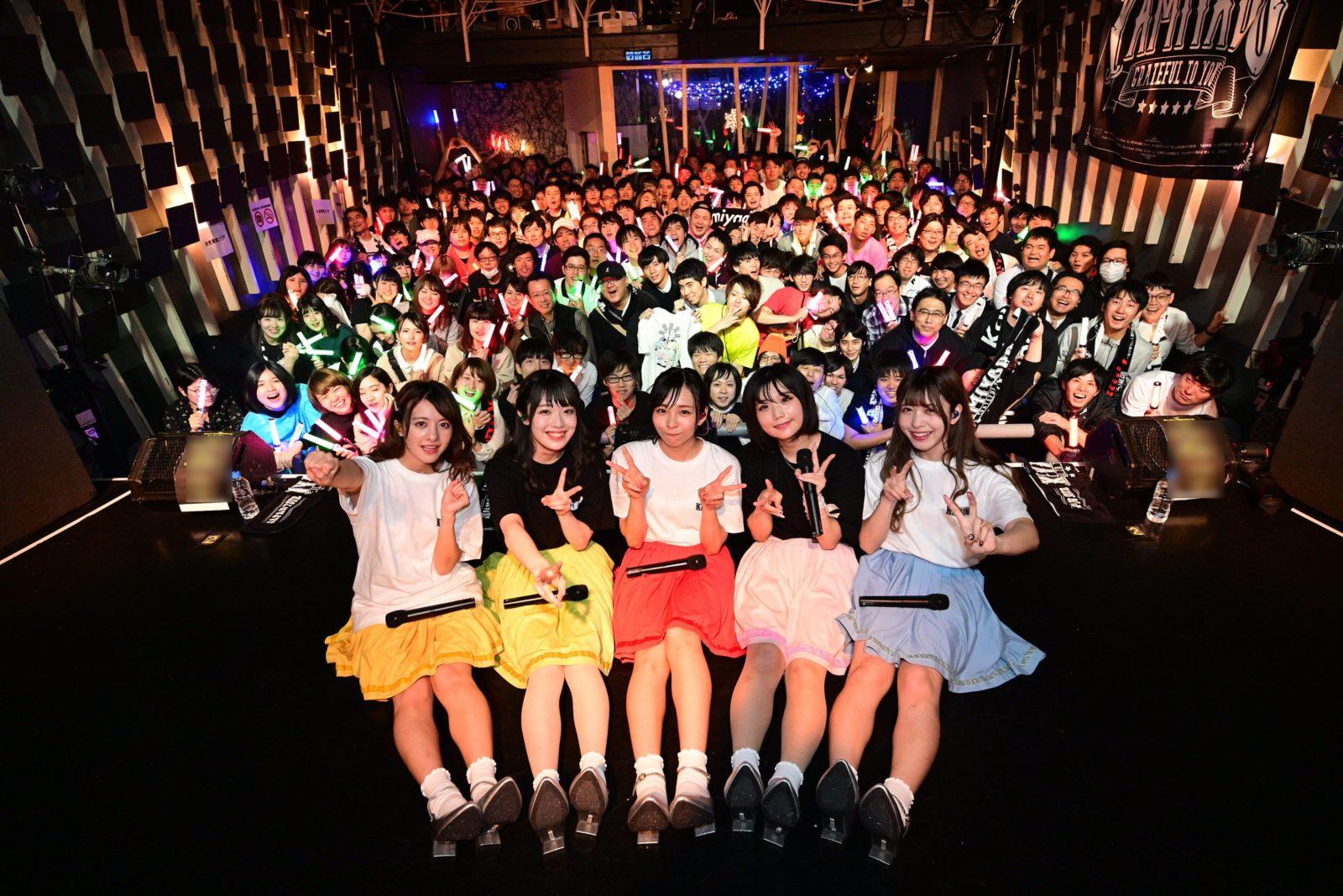 神宿、思い出の地でジャパンツアー開幕!衣装提供はオサレカンパニーサムネイル画像