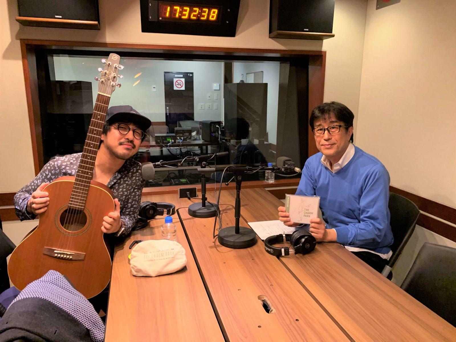 THE CHARM PARK×松任谷正隆、ラジオ対談でスタジオ生演奏もサムネイル画像