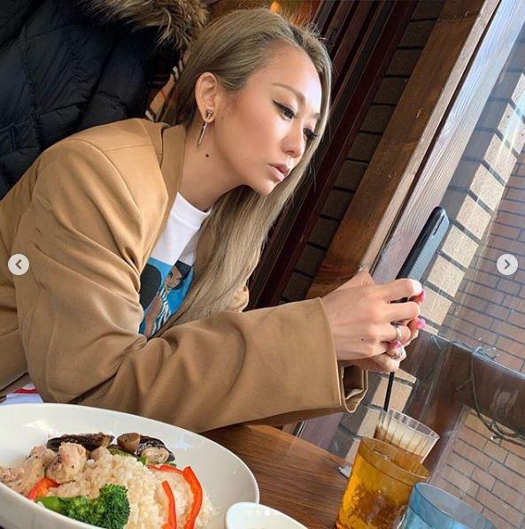 """倖田來未、リハ後の""""ランチSHOT""""公開に反響「付き合ってもらってもいいですか?」「可愛すぎ」"""