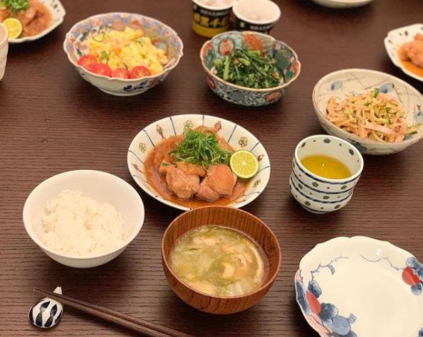 小倉優子 ご飯