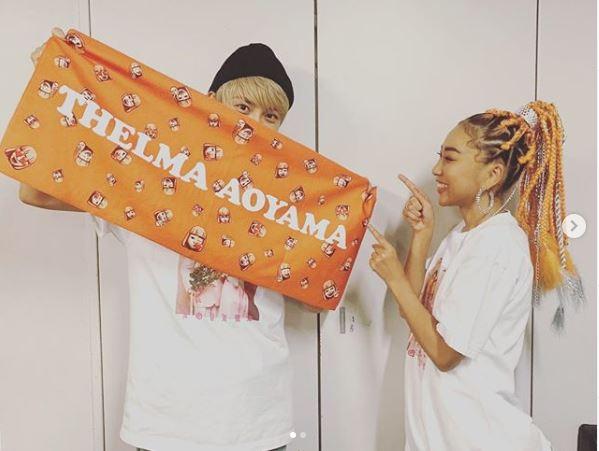 """AAA與真司郎、青山テルマLIVEへの""""サプライズゲスト""""を報告し反響「テルジロ永遠推せる」「最高のツーショット」サムネイル画像"""