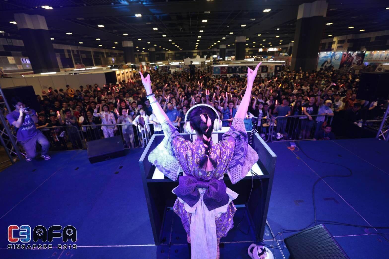 DJ小宮有紗 from OMOTENASHI BEATS、シンガポール開催のANIME FESTIVAL ASIAで大成功サムネイル画像