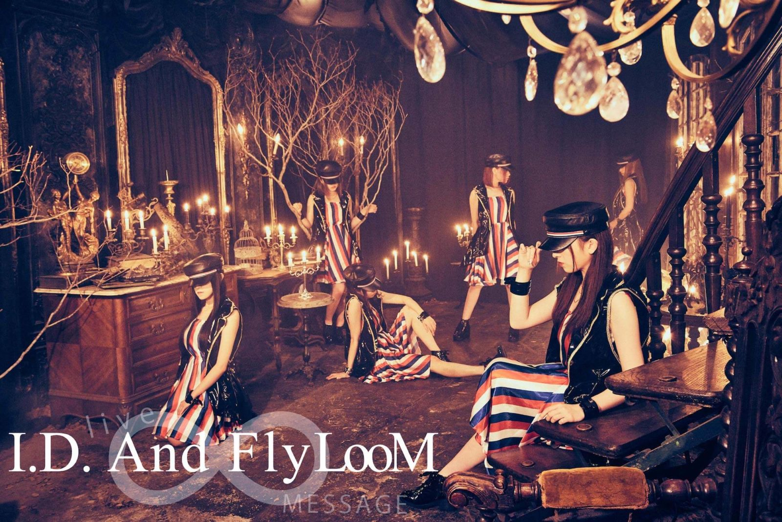 I.D.And Fly LooM 満員のEXシアターが熱狂、原点回帰の渋谷クアトロも決定サムネイル画像