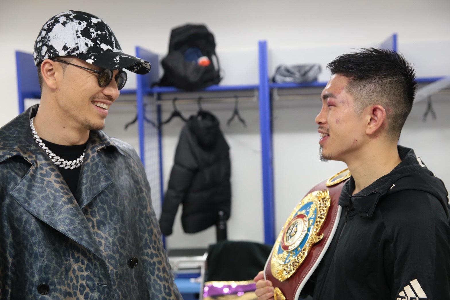 ボクシング井岡一翔の初防衛戦でAK-69が生ライブ入場でエール!サムネイル画像!