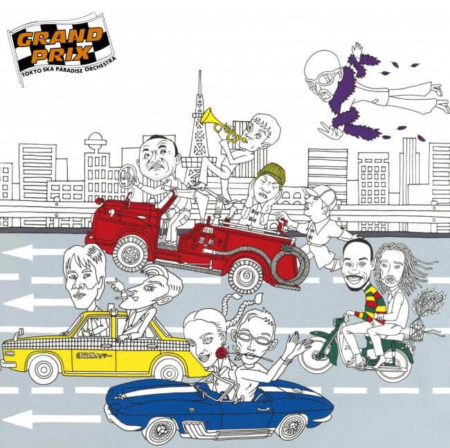 東京スカパラダイスオーケストラ、Epic Records Years Reissueアナログ盤発売第3弾が決定サムネイル画像!