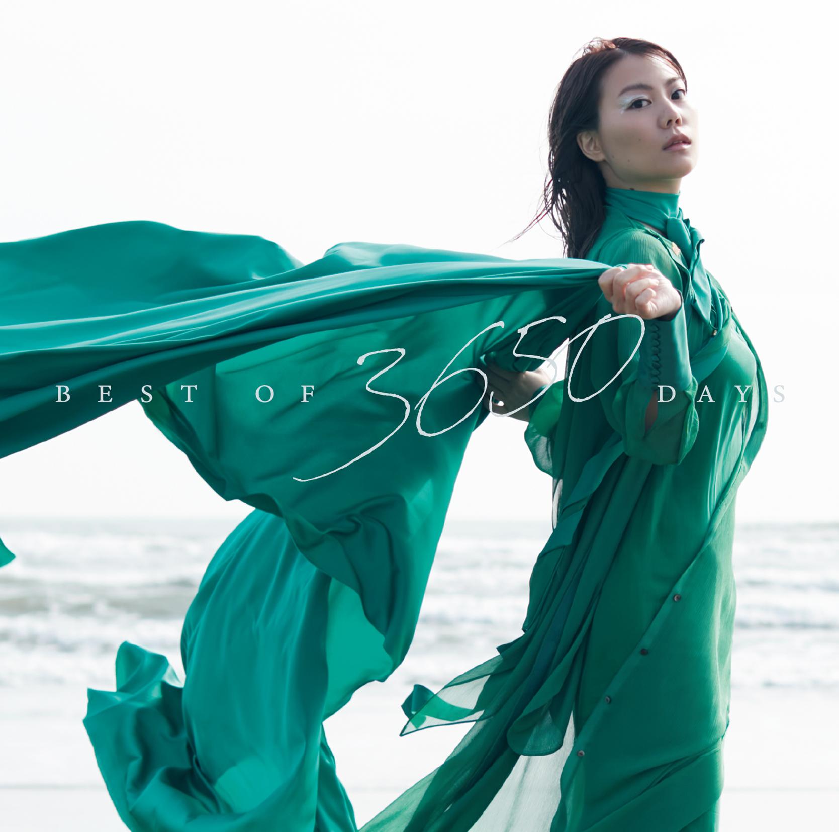 THE SxPLAY(菅原紗由理)、初ベスト盤「BEST OF 3650 DAYS」収録曲&ジャケット公開!リリース記念ライブも決定