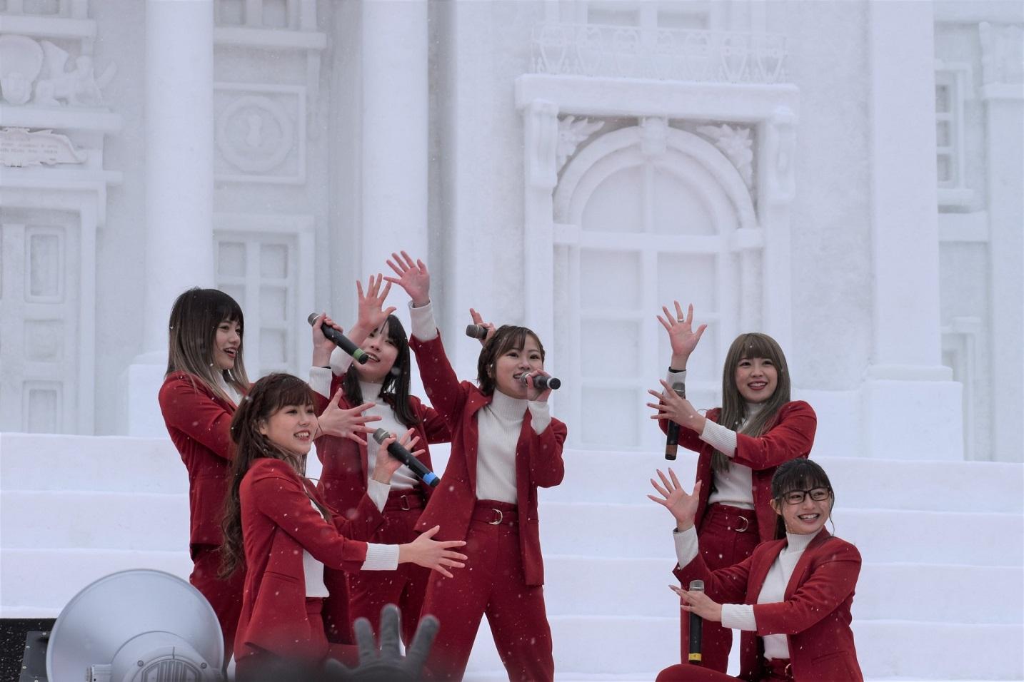 大阪☆春夏秋冬『さっぽろ雪まつり』 に初出演し 圧巻のパフォーマンスを披露サムネイル画像