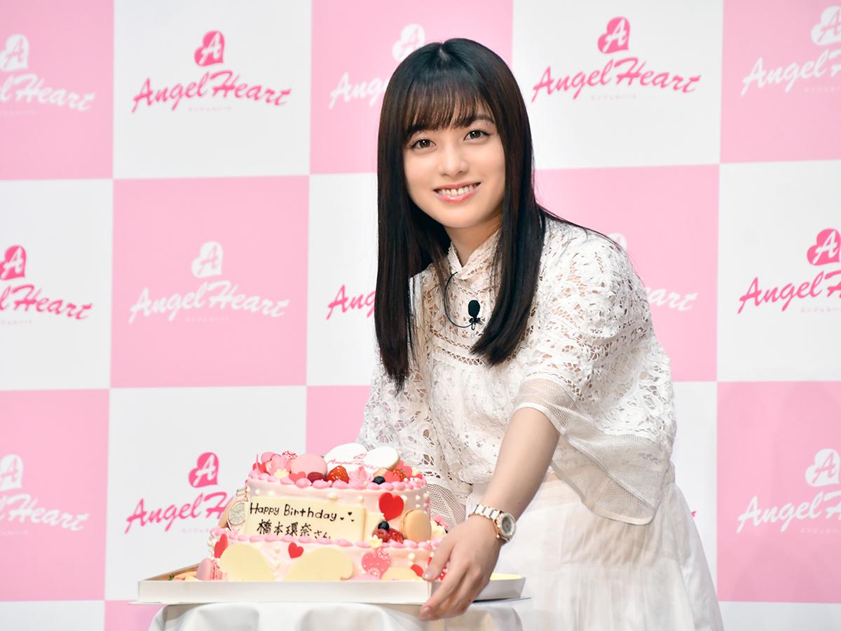 橋本環奈、サプライズケーキに歓喜…21歳の抱負は「責任を持って誠実に」サムネイル画像