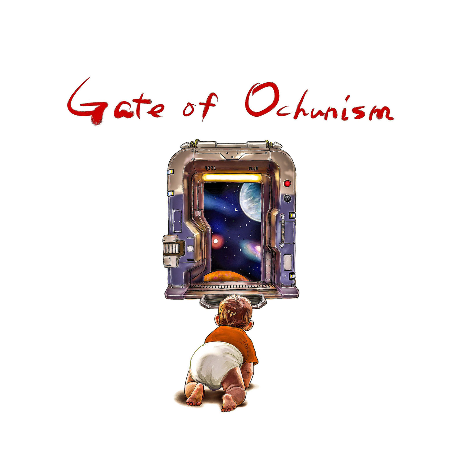 ライブハウスシーンに突如現れた謎の6人組、Ochunismの初全国流通盤「Gate of Ochunism」全曲トレイラーを公開サムネイル画像