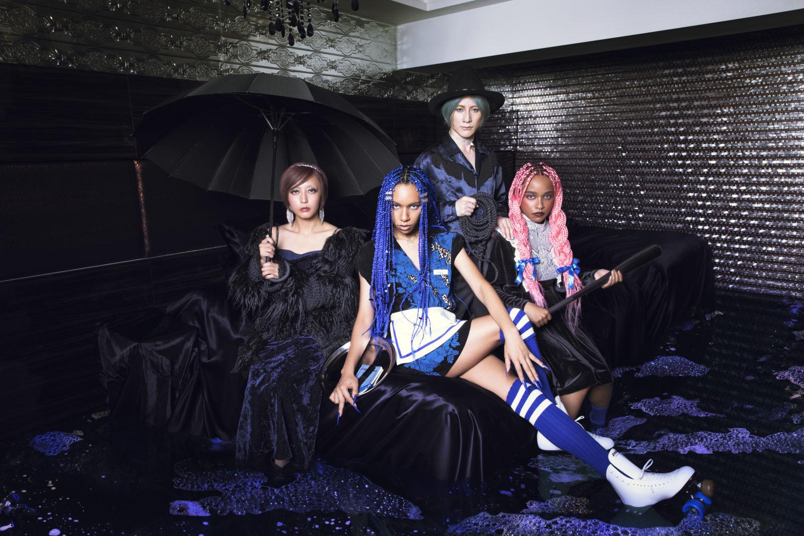 女王蜂、先日配信されたNEWアルバム発売記念YouTube Liveを期間限定公開サムネイル画像!