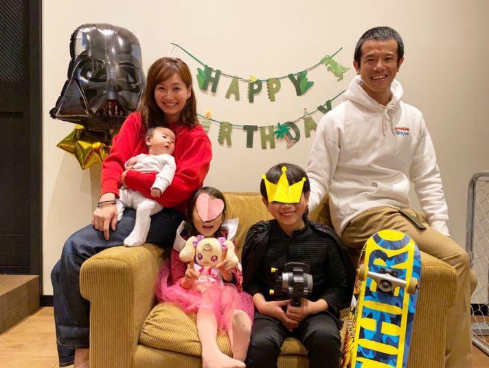 藤本美貴、長男の誕生日を祝う家族5人SHOTを公開「8歳になりました」サムネイル画像!
