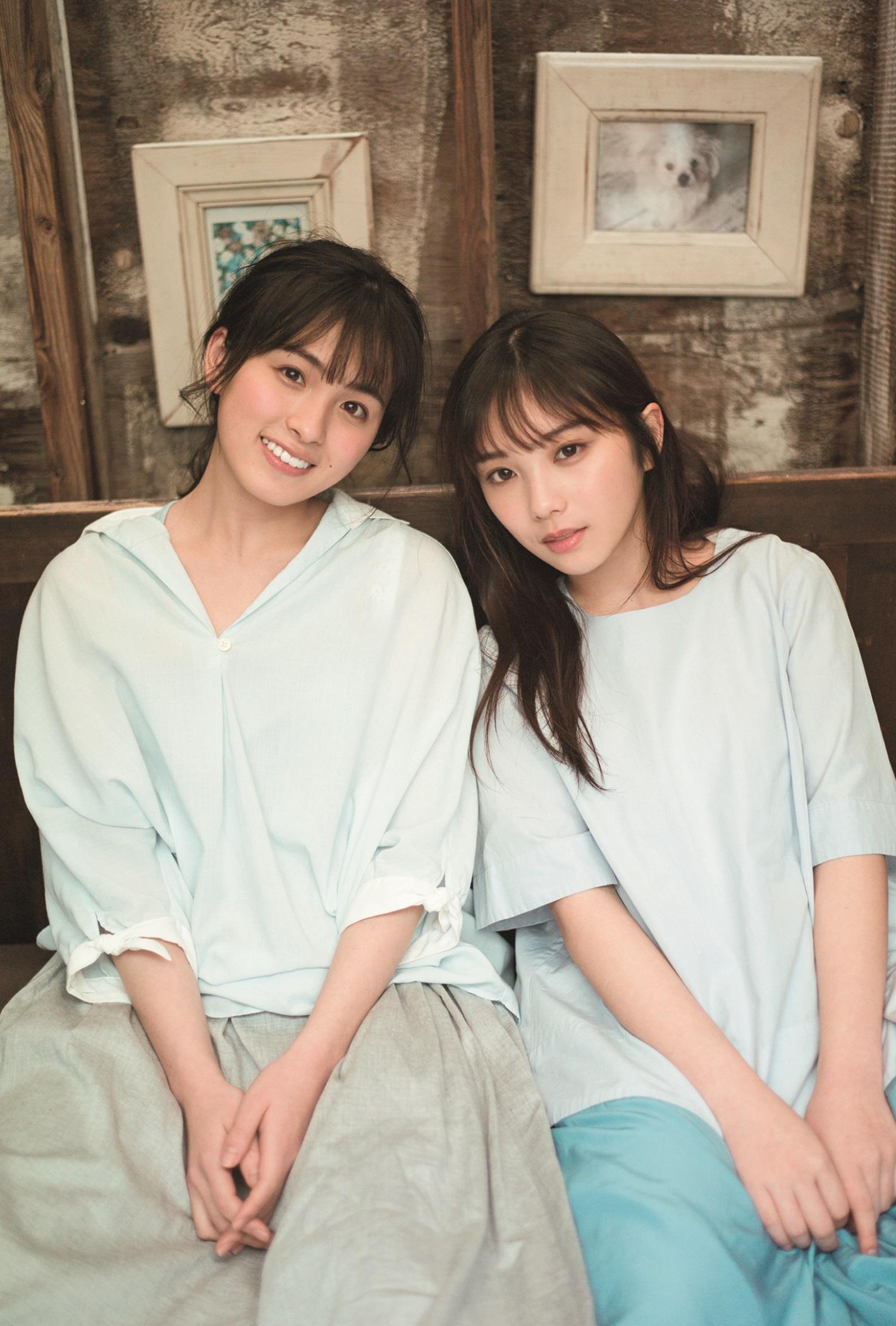 乃木坂46・大園桃子&与田祐希、身を寄せ合った2ショットを公開