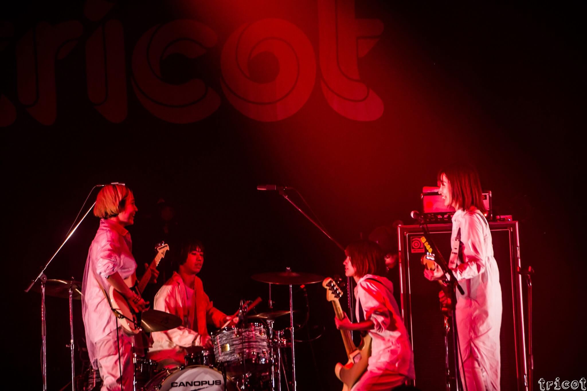 tricot、あの伝説の無観客LIVEの映像を公開