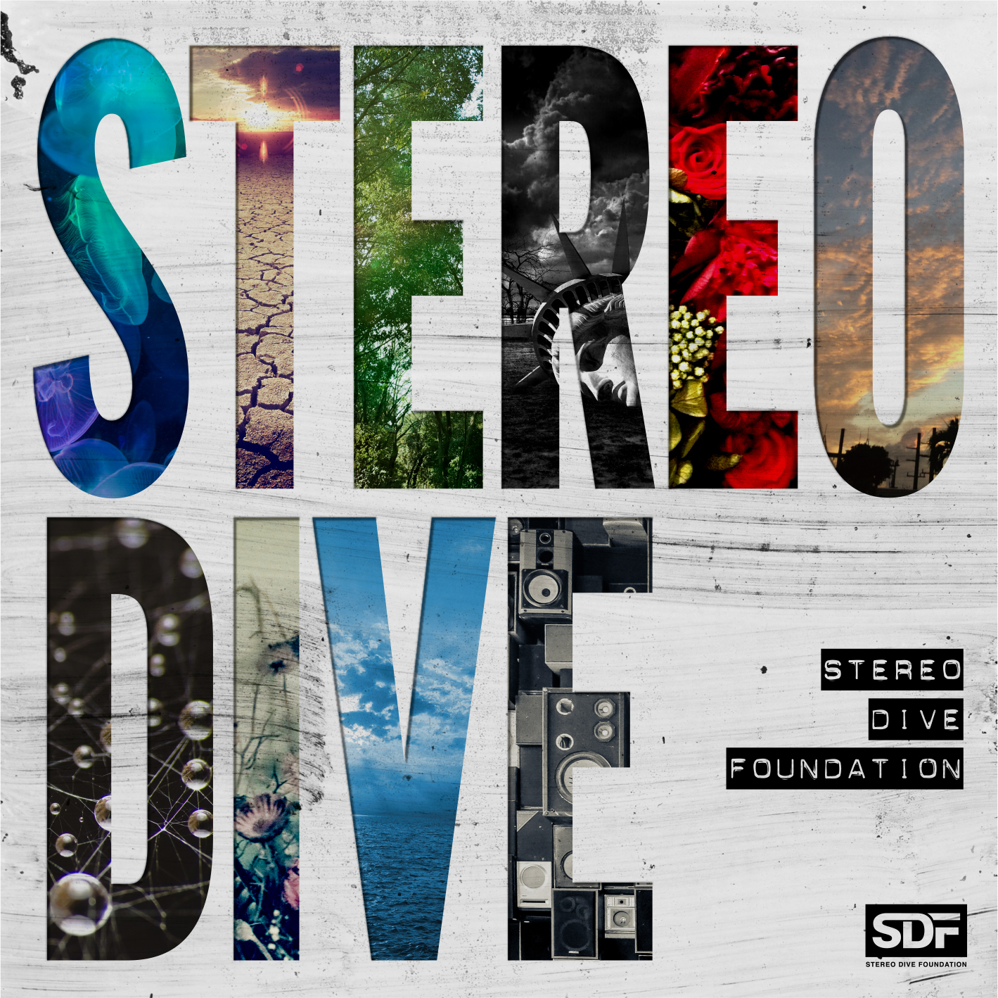 STEREO DIVE FOUNDATION 1st ALBUM『STEREO DIVE』サブスクリプションサービスでの配信開始サムネイル画像