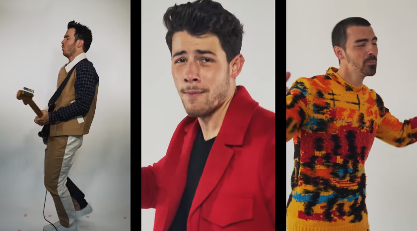 ジョナス・ブラザーズ、iPhoneで撮影した最新シングルのミュージック・ビデオを公開サムネイル画像