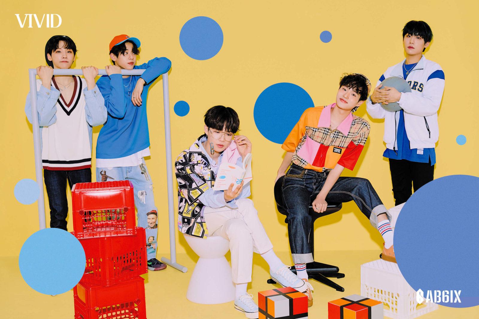 5人組K-POPグループAB6IX、ニューアルバム「VIVID」ファンクラブ会員限定・特別セットにて販売決定サムネイル画像
