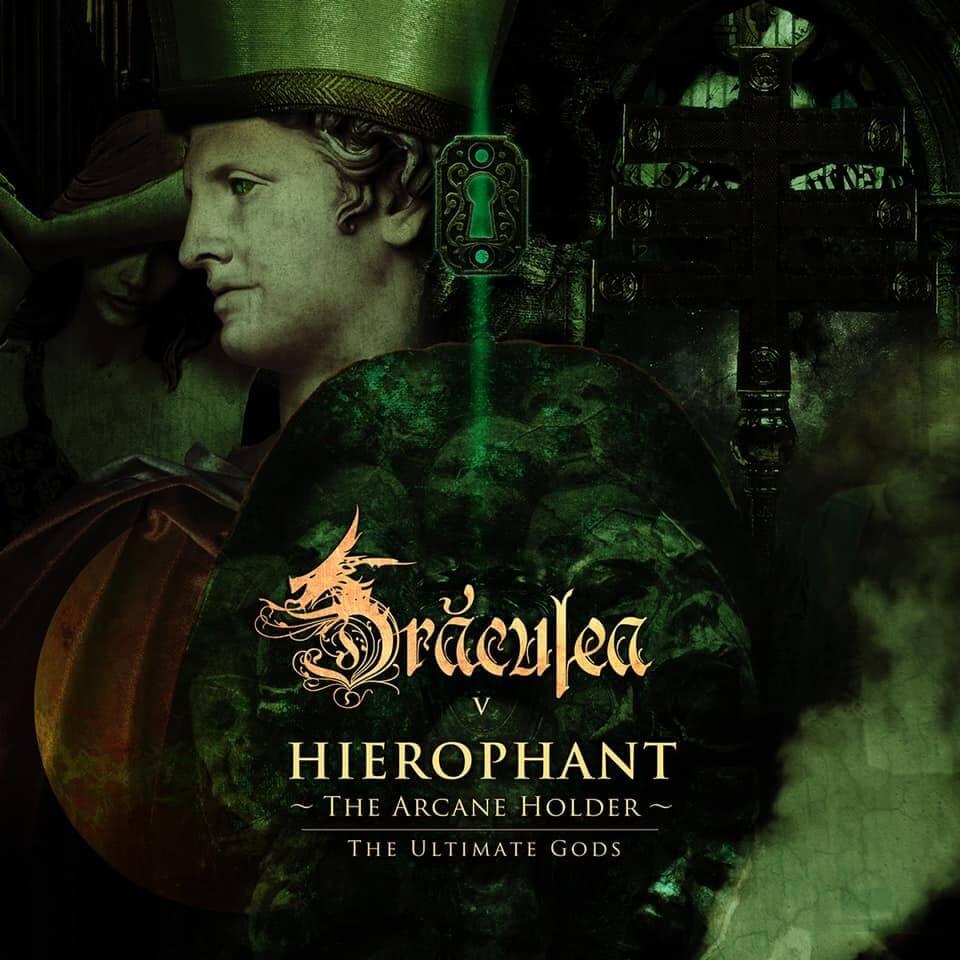 ヘヴィー・メタル・バンドDRACULEA、新曲「Ⅴ.HIEROPHANT-The Arcane Holder-教皇~秘儀の保持者~」を発表サムネイル画像