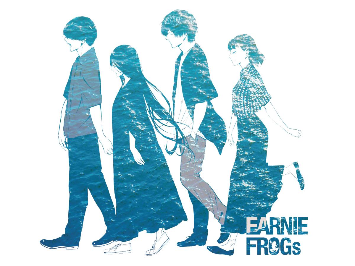 EARNIE FROGs、「ラムネサイダー」MV公開&無観客生配信ライブ決定サムネイル画像
