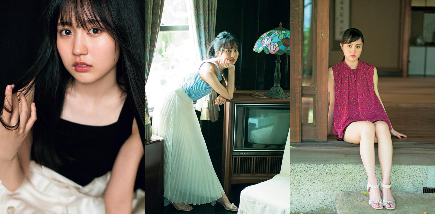 """乃木坂46・賀喜遥香、""""静と動""""を切り取ったカットが複数公開サムネイル画像"""