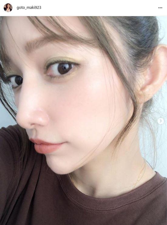 後藤真希、爽やかメイク&愛猫との顔寄せSHOT公開に反響「綺麗な肌に似合いますね」「可愛すぎ」