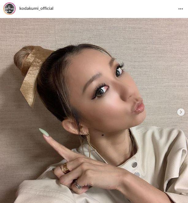 倖田來未、おすまし顔のお団子ヘア&ツヤリップSHOTに「可愛すぎる問題」「理想の輪郭」の声サムネイル画像