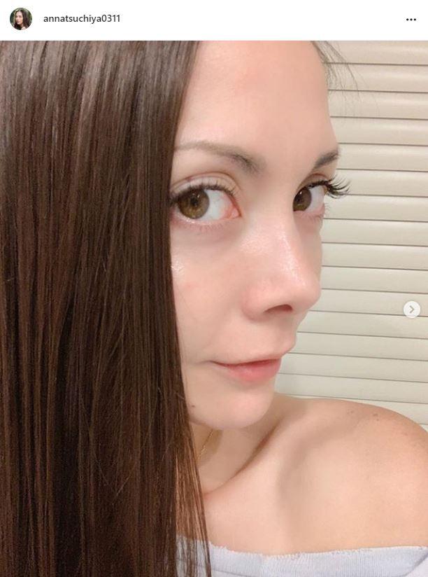 「久々のマツエク」土屋アンナ、目ヂカラSHOT公開に反響「美人度爆上がり」「芸術品の様な美しさ」