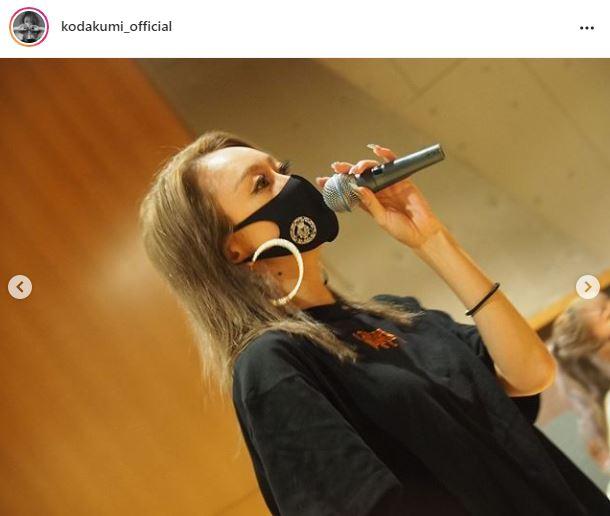 倖田來未、ヒョウ柄ショーパンのリハーサルSHOTに「カッコイイ」「腕、細ッッッ」の声サムネイル画像