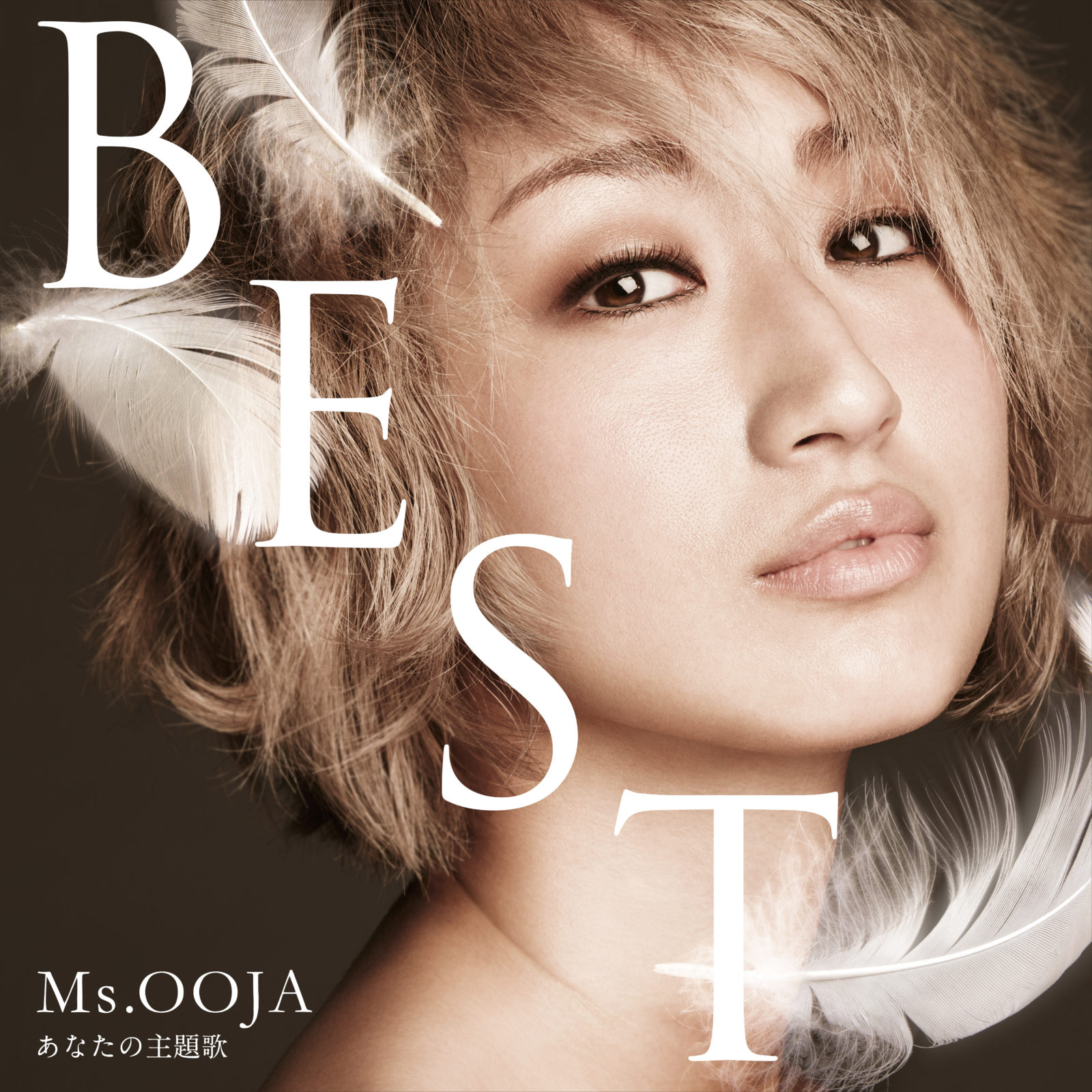 BEST ALBUM「THE BEST あなたの主題歌」ジャケット写真