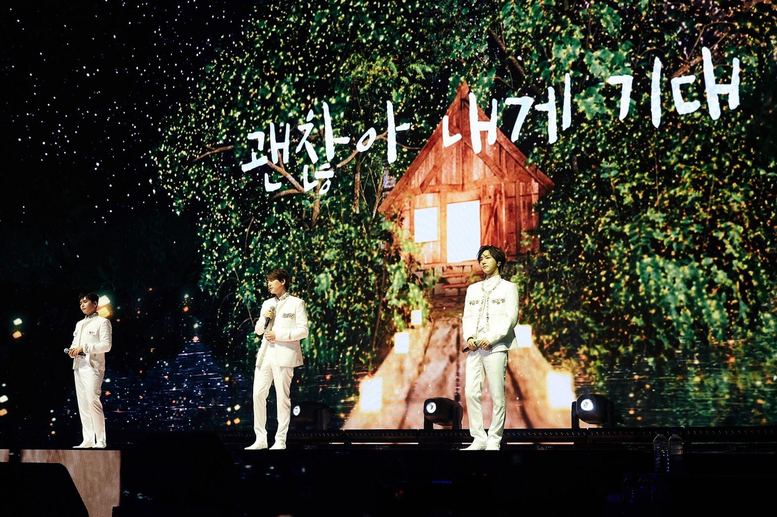 SUPER JUNIOR-K.R.Y.  5年ぶりの単独コンサートを開催サムネイル画像