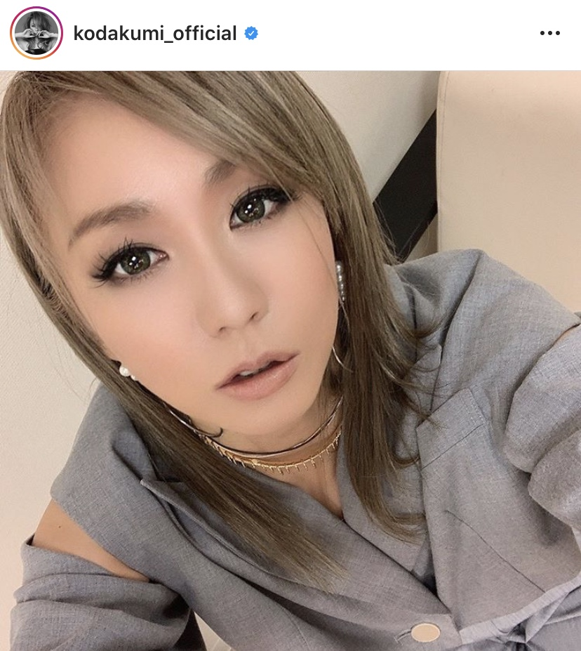 """倖田來未、大人な肌見せジャケットで""""見つめるSHOT""""公開に反響「美しすぎます」「惚れちゃいました」"""