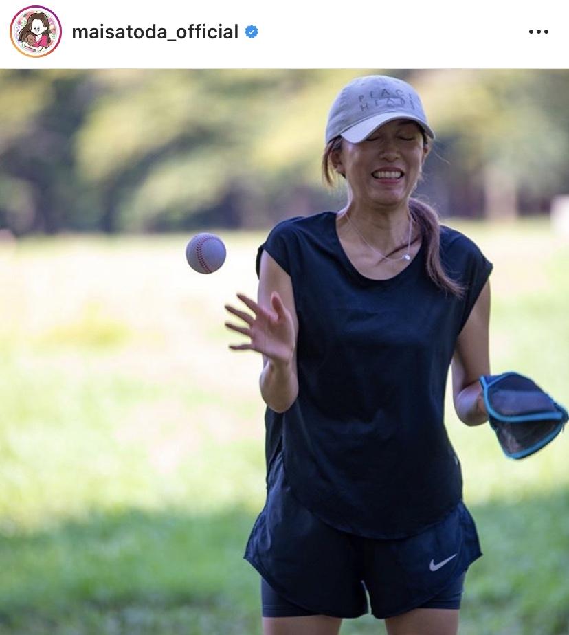 里田まい、長男の野球に付き合う「ひぃーっっっ」な瞬間SHOT公開し反響「ママコーチ、お疲れ様」サムネイル画像