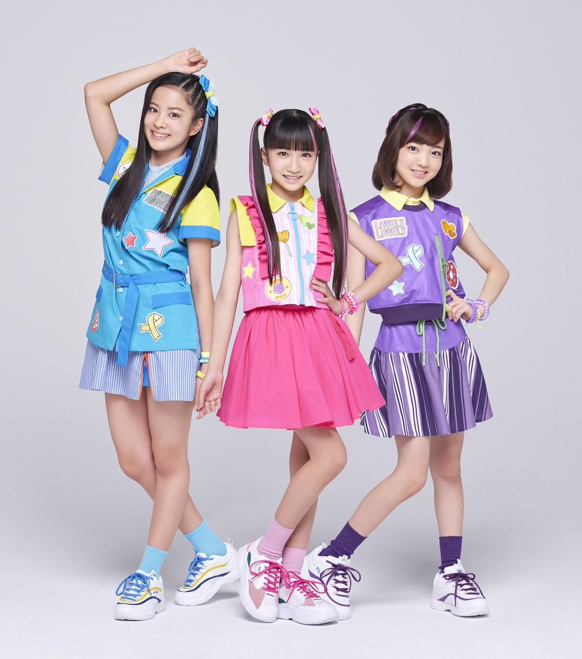 ガールズグループlovely2、デビューシングル「〇×△~まるばつさんかく~」MVが解禁サムネイル画像