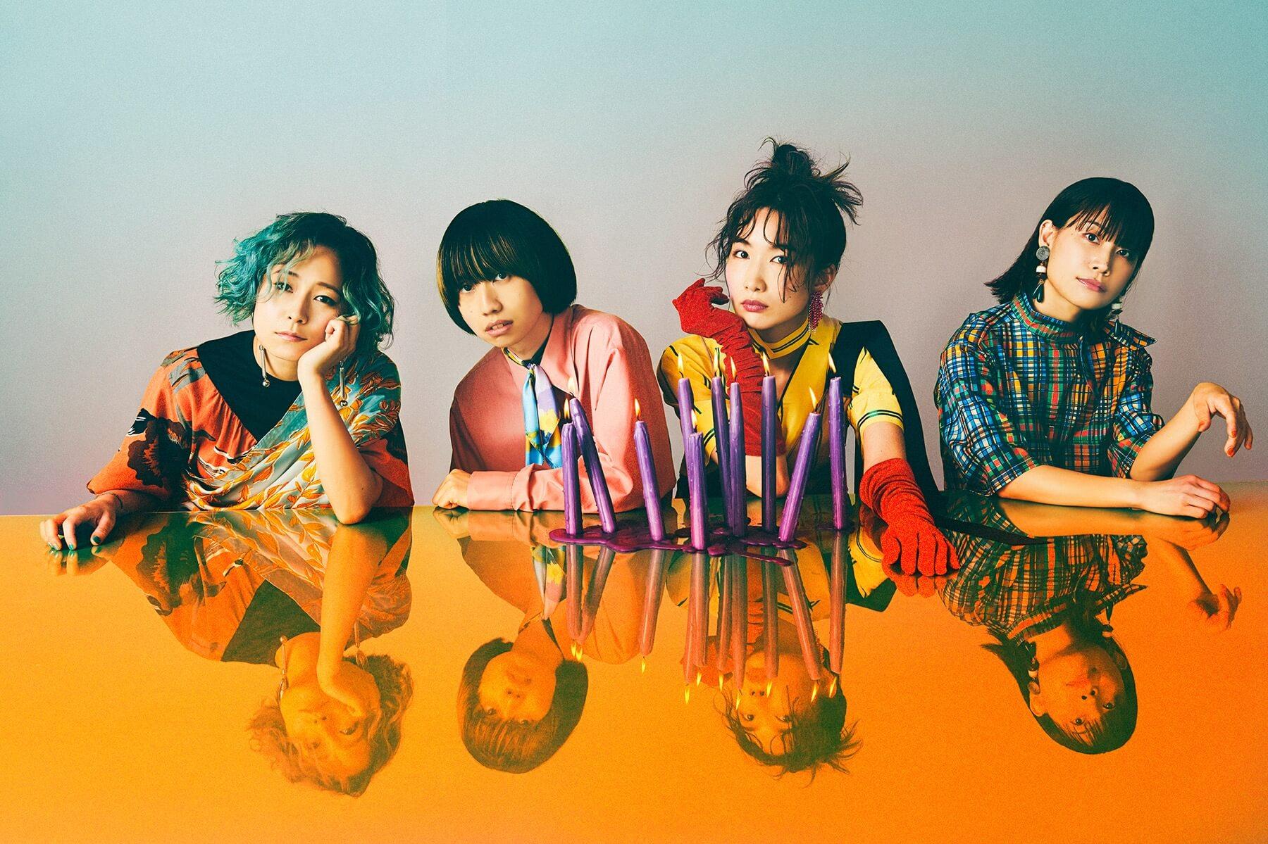tricotの対バン企画「爆祭2020(-Vol.13-)」大阪編のゲスト出演者がACIDMAN、アルカラに決定